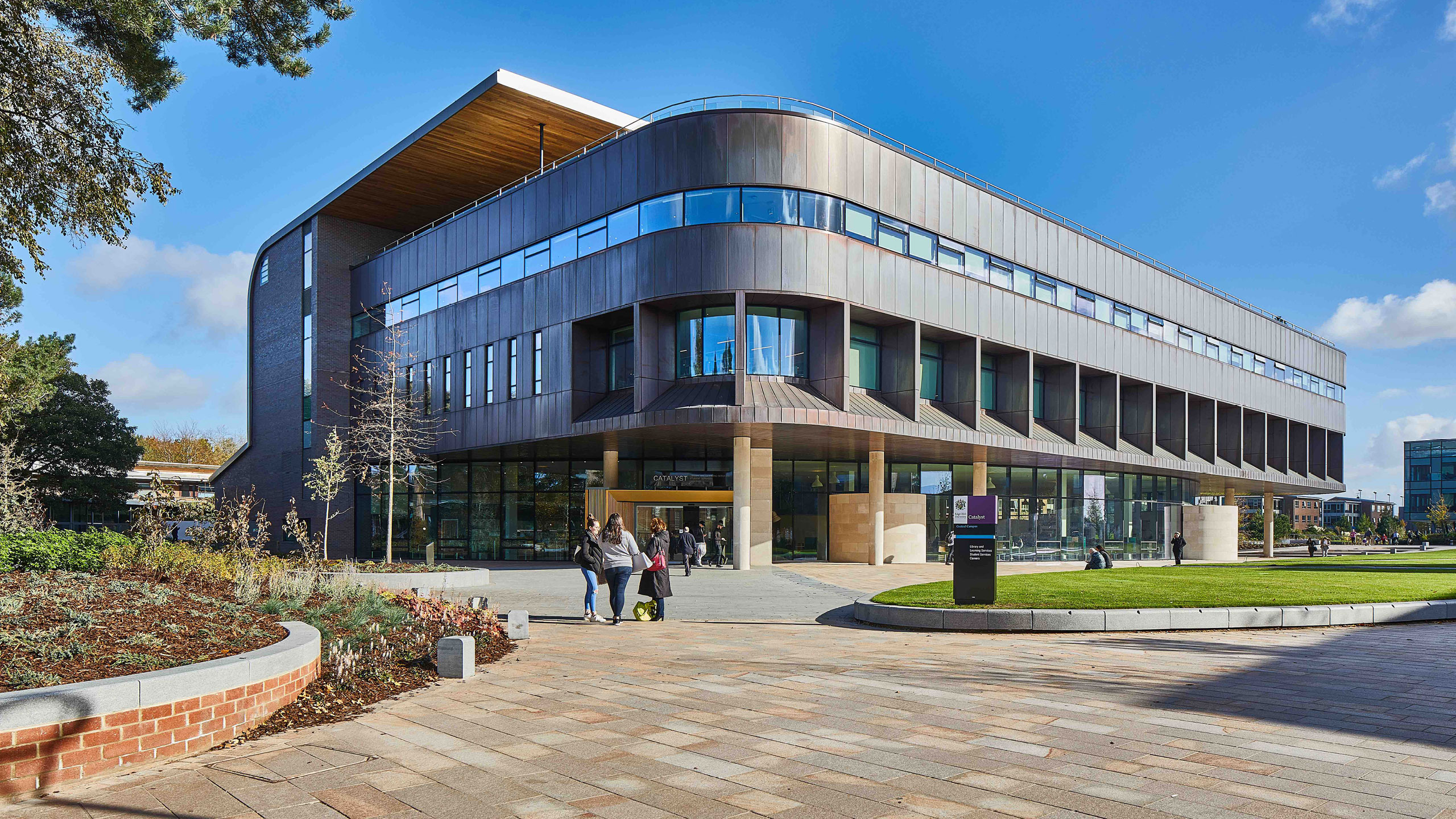 The Catalyst Building, Edge Hill University, Ormskirk, UK Designed by ABW Architects