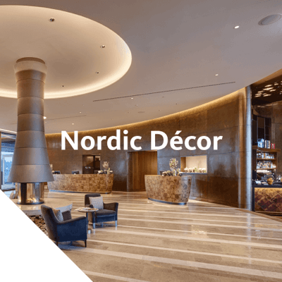 Nordic Décor combines the range of pre-oxidised and pre-patinated copper with various mechanical surface treatments, e.g. grindings and pattern embossings.