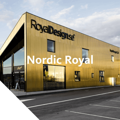 Nordic Royal is an alloy of copper, aluminum and zinc, with a rich golden through-color. The material has a thin protective oxide layer which thickens when exposed to the atmosphere.